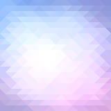 Modelo geométrico colorido. Ejemplo del vector. libre illustration