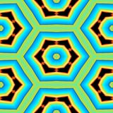 Modelo geométrico colorido o fondo del extracto inconsútil del vintage ilustración del vector