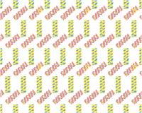 Modelo geométrico Composición geométrica simple de figuras Colores del inconformista libre illustration