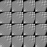 Modelo geométrico comprobado inconsútil del diseño Foto de archivo libre de regalías