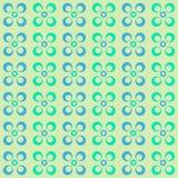 Modelo geométrico con los círculos Fotos de archivo libres de regalías