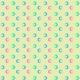 Modelo geométrico con los círculos Imagen de archivo libre de regalías