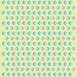 Modelo geométrico con los Rhombus Imágenes de archivo libres de regalías