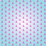Modelo geométrico con los triángulos color de rosa de la luz Ornamento moderno geométrico Fondo abstracto inconsútil stock de ilustración