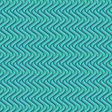 Modelo geométrico curvado verde stock de ilustración