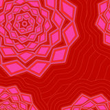 Modelo geométrico de Abstarct Ilustración Ilustración del Vector