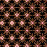 Modelo geométrico de Ankara del Afro Fotos de archivo libres de regalías