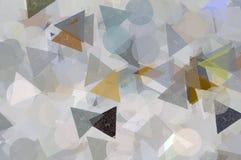 Modelo geométrico de las dimensiones de una variable Fotos de archivo libres de regalías