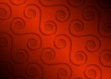 Modelo geométrico de papel rojo, plantilla abstracta para el sitio web, bandera, tarjeta de visita, invitación del fondo Fotografía de archivo