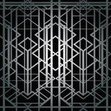 Modelo geométrico del art déco Imagen de archivo libre de regalías