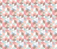 Modelo geométrico del color del Rhombus Fotografía de archivo libre de regalías