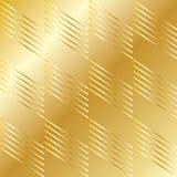 Modelo geométrico del oro ilustración del vector