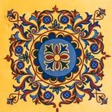 Modelo geométrico del otomano Fotos de archivo libres de regalías