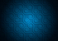 Modelo geométrico del papel azul, plantilla abstracta para el sitio web, bandera, tarjeta de visita, invitación del fondo Imagen de archivo libre de regalías
