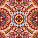 Modelo geométrico del vector con textura inconsútil Imagen de archivo libre de regalías