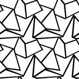 Modelo geométrico del vector inconsútil stock de ilustración