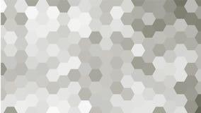 Modelo geométrico en tonos grises Fotografía de archivo libre de regalías