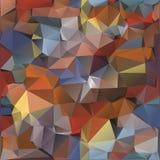 Modelo geométrico, fondo de los triángulos. Stock de ilustración