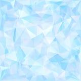 Modelo geométrico, fondo de los triángulos. Ilustración del Vector