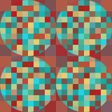 Modelo geométrico inconsútil Foto de archivo libre de regalías