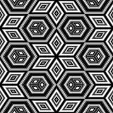 Modelo geométrico inconsútil Imagenes de archivo