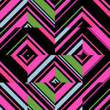 Modelo geométrico inconsútil abstracto Fotos de archivo