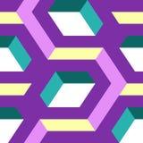 Modelo geométrico inconsútil abstracto Foto de archivo libre de regalías