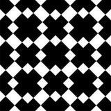 Modelo geométrico inconsútil blanco y negro fotos de archivo libres de regalías