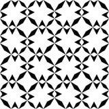 Modelo geométrico inconsútil blanco y negro fotografía de archivo libre de regalías