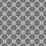 Modelo geométrico inconsútil blanco y negro libre illustration