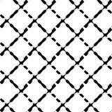 Modelo geométrico inconsútil blanco y negro Textura repetible/ libre illustration