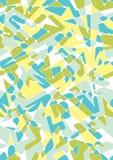 Modelo geométrico inconsútil con formas del polígono libre illustration