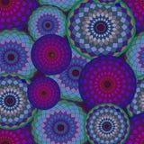 Modelo geométrico inconsútil con los elementos coloridos Fotografía de archivo libre de regalías