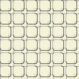 Modelo geométrico inconsútil de cuadrados grandes y pequeños Stock de ilustración