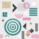 Modelo geométrico inconsútil de moda, ejemplo del vector Fotografía de archivo libre de regalías