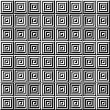 Modelo geométrico inconsútil de triángulos Imágenes de archivo libres de regalías