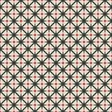 Modelo geométrico inconsútil del Rhombus negro y rojo libre illustration