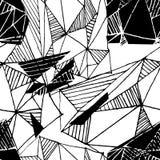 Modelo geométrico inconsútil Fondo del vector Foto de archivo