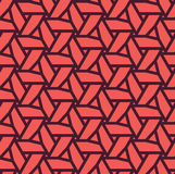 Modelo geométrico inconsútil hecho de los triángulos - eps8 Fotografía de archivo
