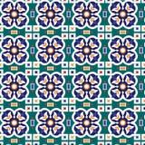 Modelo geométrico inconsútil islámico árabe abstracto del ornamento Vector Imagen de archivo libre de regalías