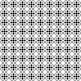 Modelo geométrico inconsútil monótono blanco y negro del vector ilustración del vector