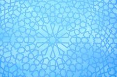 Modelo geométrico marroquí Fotos de archivo libres de regalías