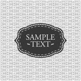 Modelo geométrico monocromático Fotos de archivo libres de regalías