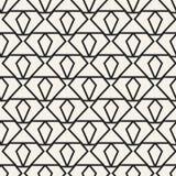 Modelo geométrico monocromático del vector abstracto del concepto Fondo mínimo blanco y negro Plantilla creativa del ejemplo Foto de archivo