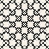 Modelo geométrico monocromático del vector abstracto del concepto Fondo mínimo blanco y negro Plantilla creativa del ejemplo Imagen de archivo