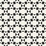 Modelo geométrico monocromático del vector abstracto del concepto Fondo mínimo blanco y negro Plantilla creativa del ejemplo Imagenes de archivo