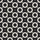 Modelo geométrico monocromático del vector abstracto del concepto Fondo mínimo blanco y negro Plantilla creativa del ejemplo Imagen de archivo libre de regalías