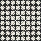 Modelo geométrico monocromático del vector abstracto del concepto Fondo mínimo blanco y negro Plantilla creativa del ejemplo Fotografía de archivo