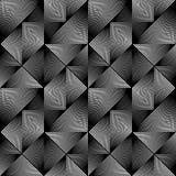 Modelo geométrico monocromático inconsútil del diseño Imagen de archivo libre de regalías