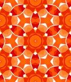 Modelo geométrico multicolor en rojo brillante. libre illustration